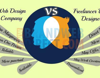 Freelancer web designer vs Web design company