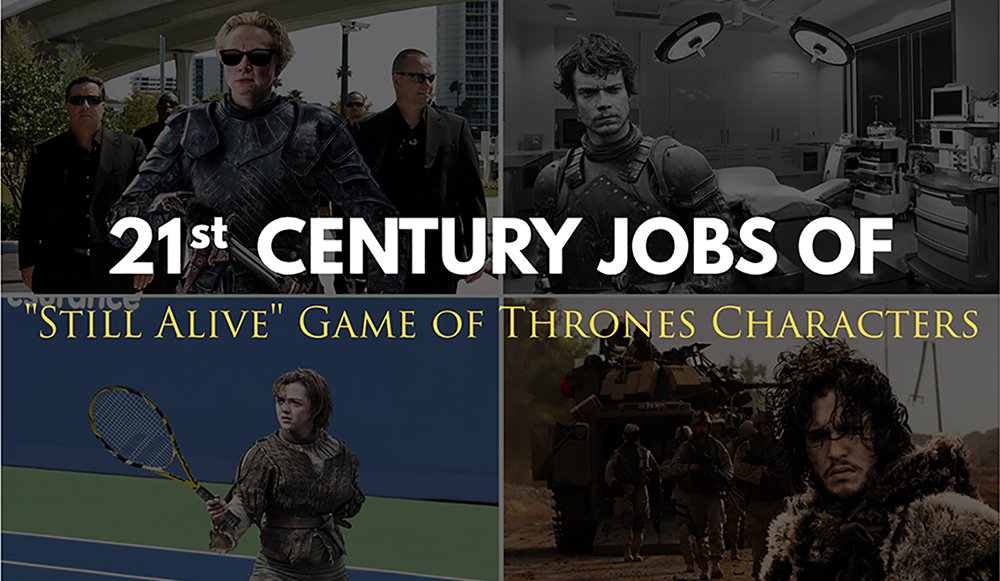 What Jobs Would    Game of Thrones